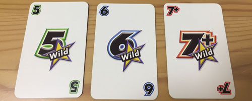 ワードバスケットの数字カード