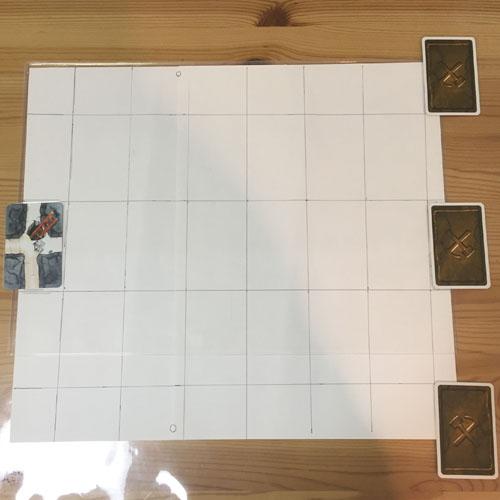 【お邪魔者】スタートカードとゴールカード3枚をセット