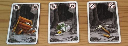 お邪魔者のルール紹介「破壊カードで道具を破壊」