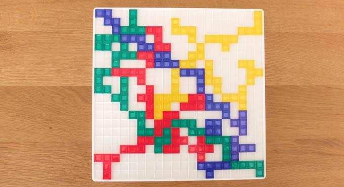 ブロックス:ゲーム中盤の様子