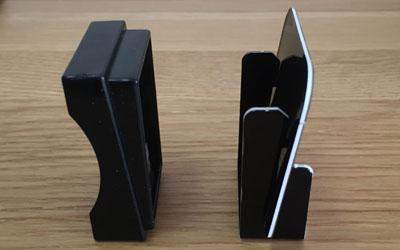 ドメモの『プラスチック製タイル』と『紙製タイル』の比較