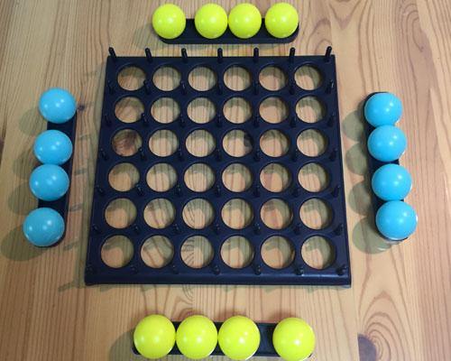 バウンス・オフ!青ボールと黄色ボール