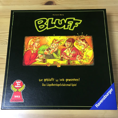 ブラフ(BLUFF) ボードゲーム