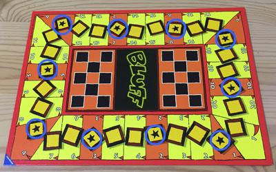 ボードゲーム「ブラフ」星のマス