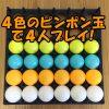 バウンスオフのアレンジルール:4人プレイの個人戦で盛り上がろう!