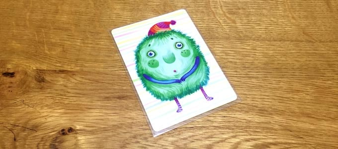 ナンジャモンジャのカードにぴったりのスリーブ