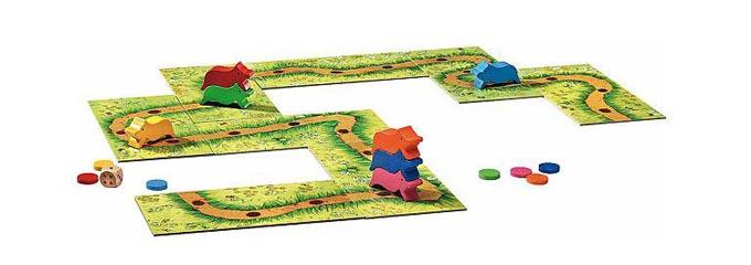 子供におすすめのテーブルゲーム:すすめコブタくんは「コブタがコブタの背中に乗れる」ゲーム
