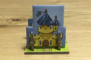 キングドミノ:城とスタートタイル
