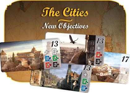 宝石の煌き:都市|都市タイル