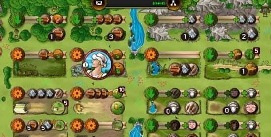 アグリコラ牧場の動物たちのアプリ画面