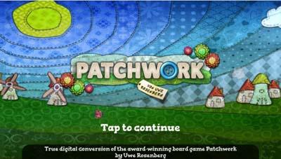ボードゲームアプリ「パッチワーク」