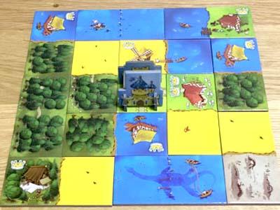 タイル配置系ボードゲーム「キングドミノ」