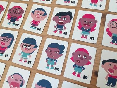 種類別ボードゲーム『似顔絵探偵ガール』