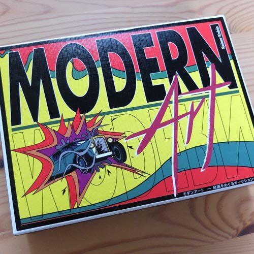ボードゲーム「モダンアート(modern art)」