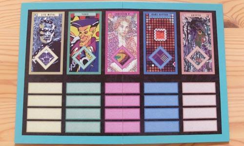 モダンアートで使用するボード
