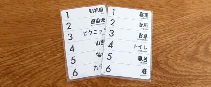 キディトレインのスリーブ|インサイダーゲームのお題カードに合うスリーブ