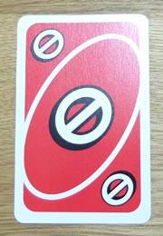UNO(ウノ)のカードの種類『スキップ』