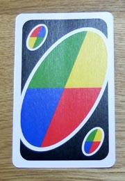 UNO(ウノ)のカードの種類『ワイルド』