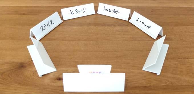 ボードゲーム『ジャストワン(JUSTONE)』:解答役は目を開けてヒントから連想できるお題を答える