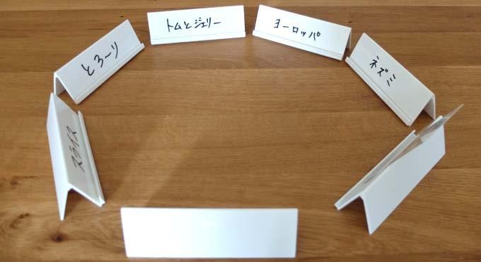 ボードゲーム『ジャストワン(JUSTONE)』:ヒント役は自分のヒントを公開する