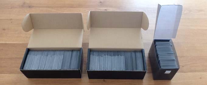 ドミニオンのカードは「ストレイジボックス」や「デッキケース」に収納