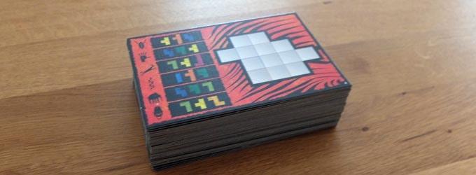 ウボンゴの内容物:パズルボード36枚