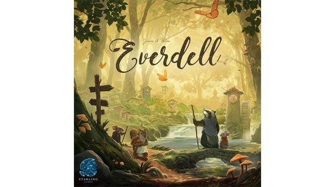 『エバーデール/Everdell』森の小動物たちが街を作るボードゲーム