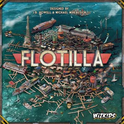 ボードゲーム『フローティラ(Flotilla)』