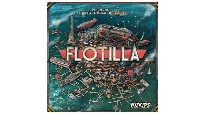 【新作ボドゲ】『フローティラ/Flotilla』人類最後の船団を繁栄させよう!!