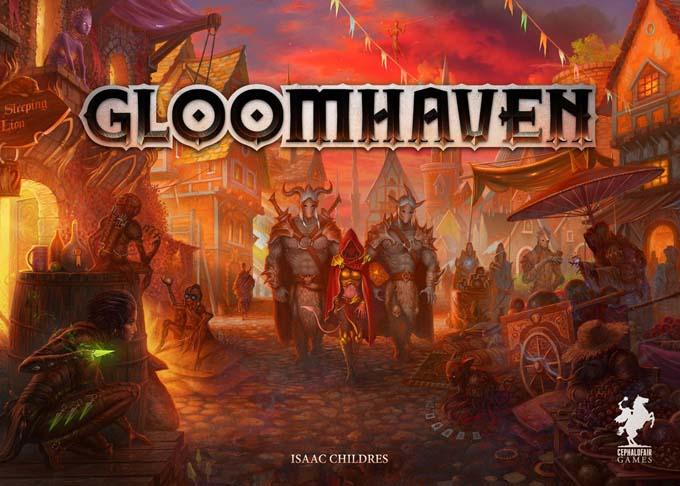 ボードゲーム『グルームヘイヴン(GLOOMHAVEN)』