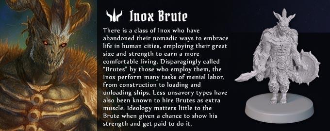 グルームヘイヴンの種族『アイノックスのブルート』