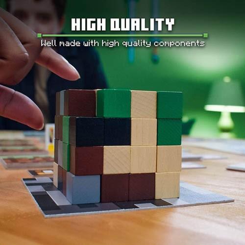 マインクラフトのボードゲーム「資源ブロック」