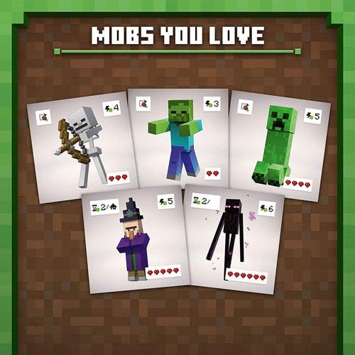 マインクラフトのボードゲーム『Minecraft: Builders & Biomes』には、マイクラでおなじみのモブがいる