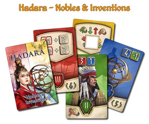 ハダラの拡張『Hadara: Nobles & Inventions』