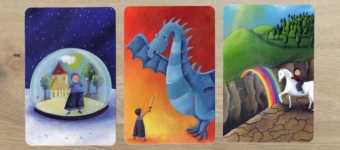 おしゃれなボードゲーム『ディクシット』のカード