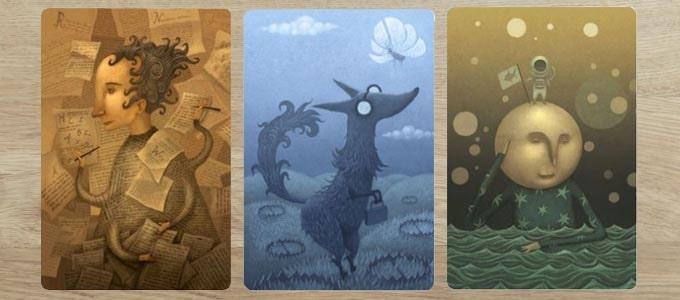 ディクシット(Dixit)の拡張版『デイドリーム』のカード