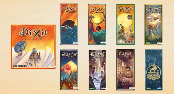 ディクシット(Dixit)の拡張は全部で9種類