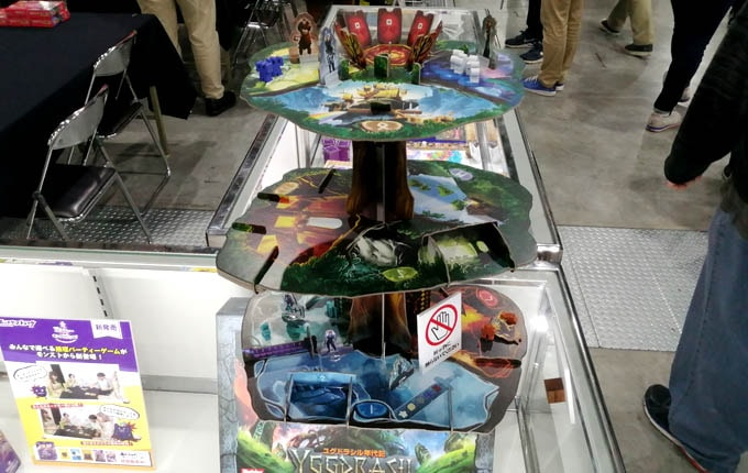 ゲームマーケット2019秋のレポート:ホビージャパンの新作『ユグドラシル年代記』