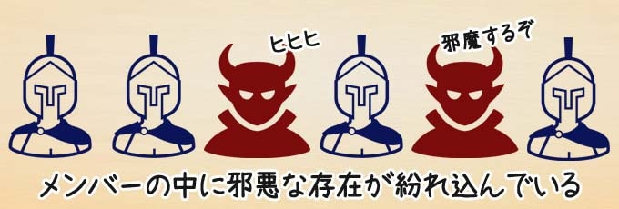 『レジスタンス:アヴァロン』は、正義チームと邪悪チームに分かれて戦う正体隠匿系ボードゲーム