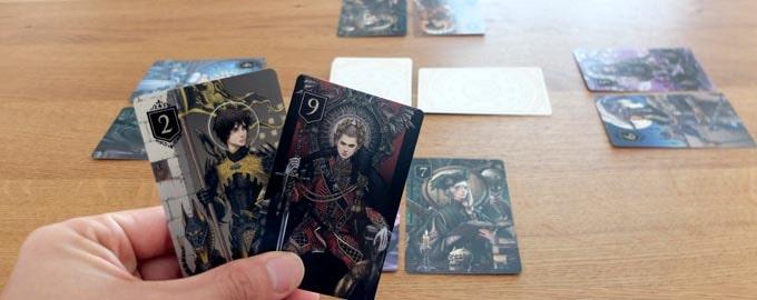 ボードゲーム『XENO』は、名作カードゲーム「ラブレター」をリメイクした作品