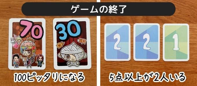 ito(イト):ゲームの終了