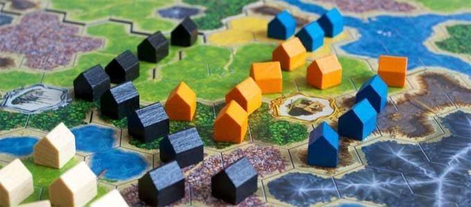 ドイツ年間ゲーム大賞2012を受賞した『キングダムビルダー(Kingdom Builder)』