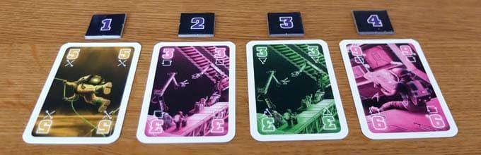 プレイ画像|ザ・クルー ボードゲーム
