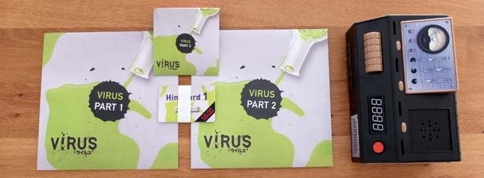 エスケープルーム ザ・ゲームのシナリオ「ウイルス」の結果