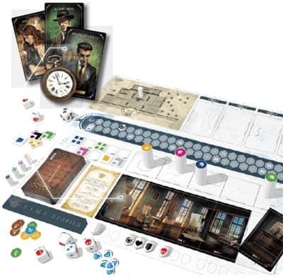 謎解きボードゲーム『T.I.M.E ストーリーズ』のコンポーネント