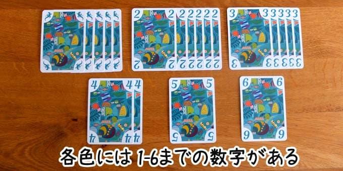 コドドカードと数字カード|5211