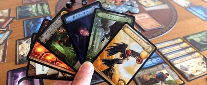 好きなカードを選び取る|ドラフトゲーム