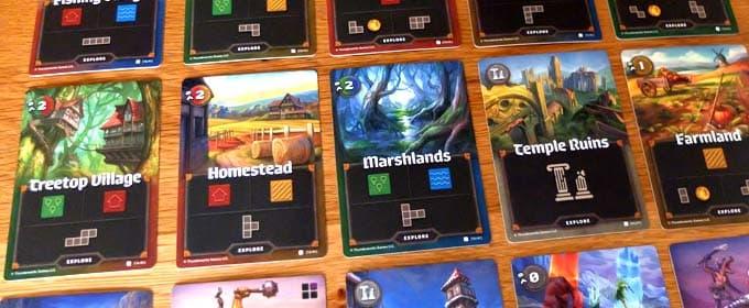 探索カード|カートグラファーズ(Cartographers a Roll Player Tale)