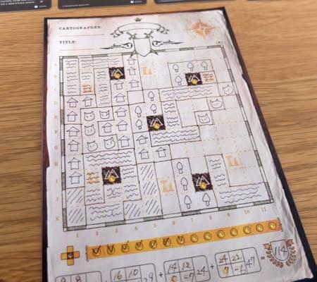 ゲームの終了|カートグラファーズ(Cartographers)