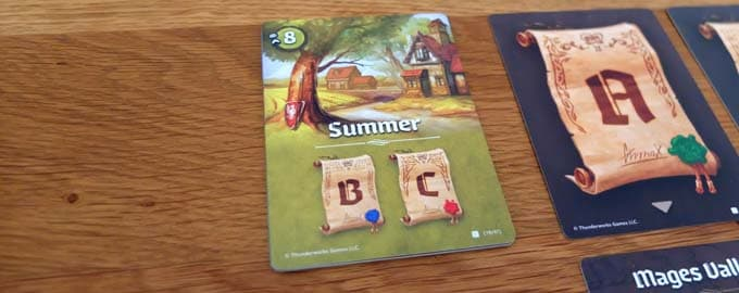 夏のシーズンカード|カートグラファーズ(Cartographers)